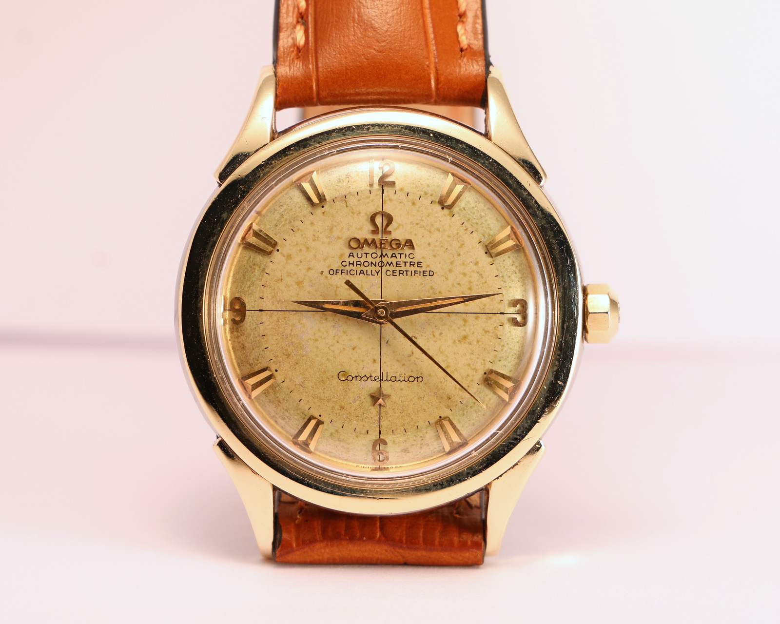 Omega Constellation Cross Hair Officially Certified Ref 2852