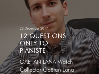 Interview de Gaëtan Lana pour Moonwatch Only