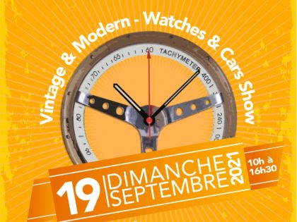 Rencontrez-nous à la Bourse Horlogère de Lille le 19 septembre 2021